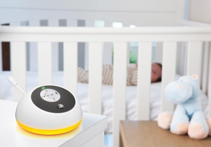 مانیتور صوتی - خواباندن نوزاد