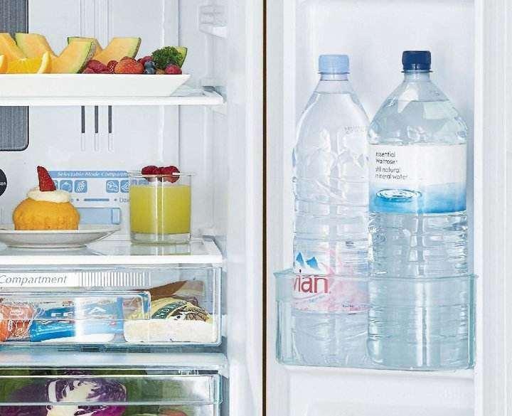 آب خنک در یخچال - صرفه جویی در مصرف آب