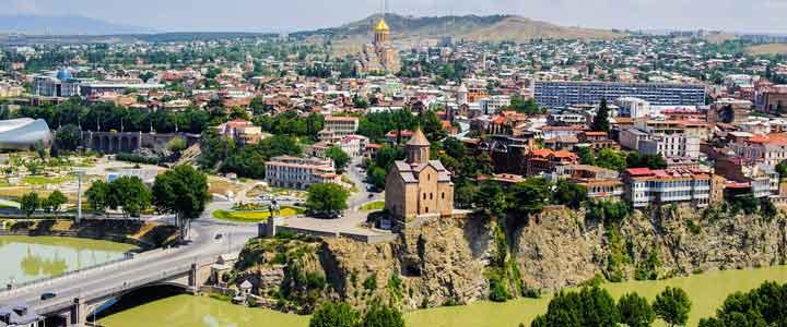 جاهای دیدنی گرجستان تفلیس Tbilisi