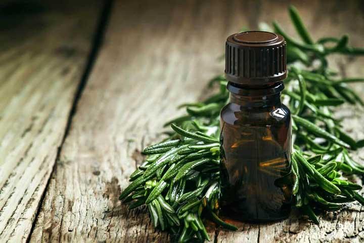 درمان جوش هورمونی با روغن درخت چای