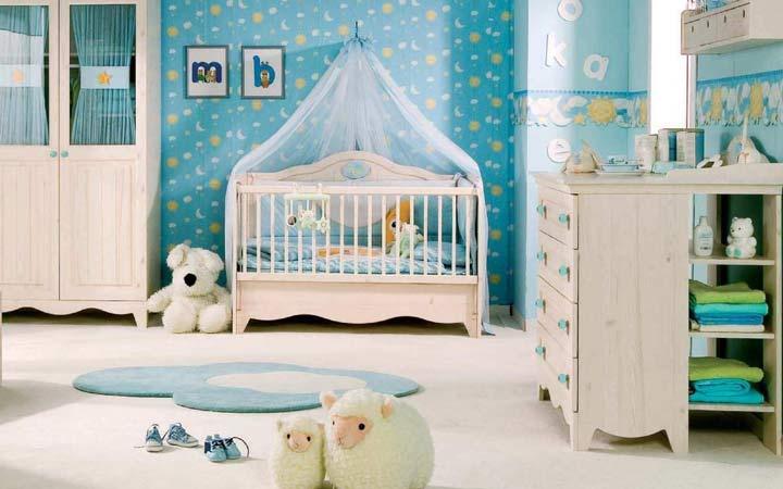 دکوراسیون اتاق نوزاد - دکوراسیون