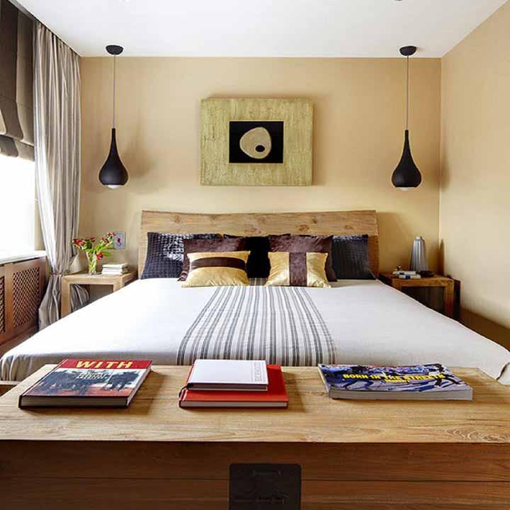 دکوراسیون اتاق خواب کوچک - سبک تلفیقی