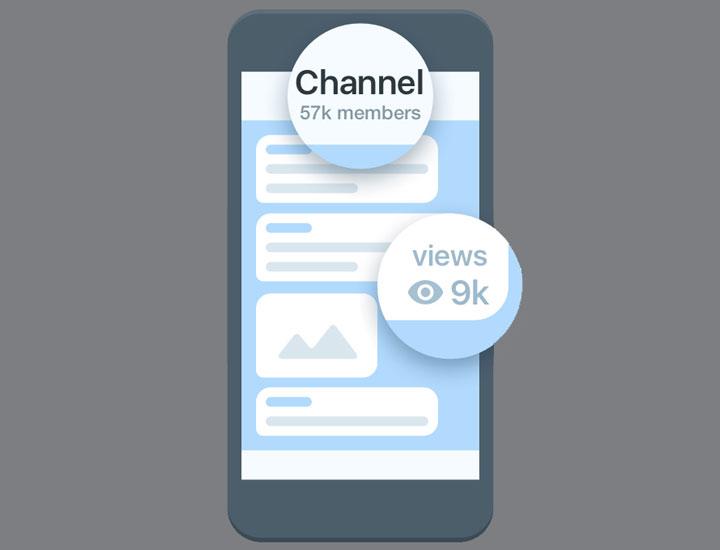 تبلیغات بازدیدی یکی از انواع تبلیغات در تلگرام
