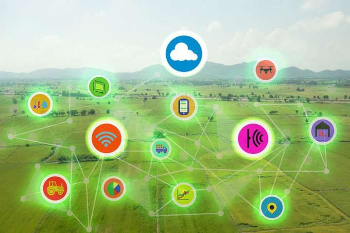 اینترنت اشیا - تاثیر بر روی کشاورزی
