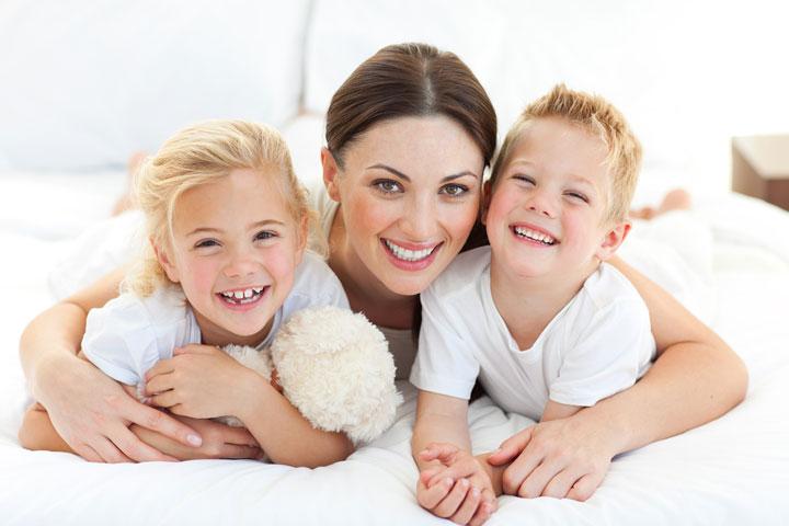 مادر و فرزندان