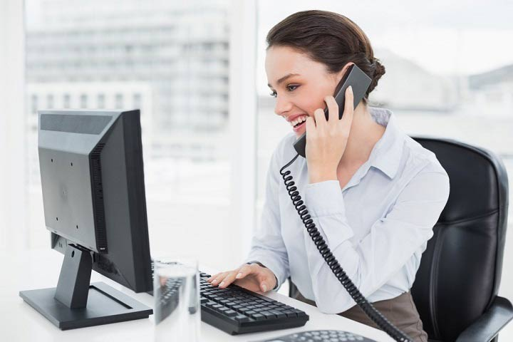 همکاری در فروش - تماسهای تلفنی