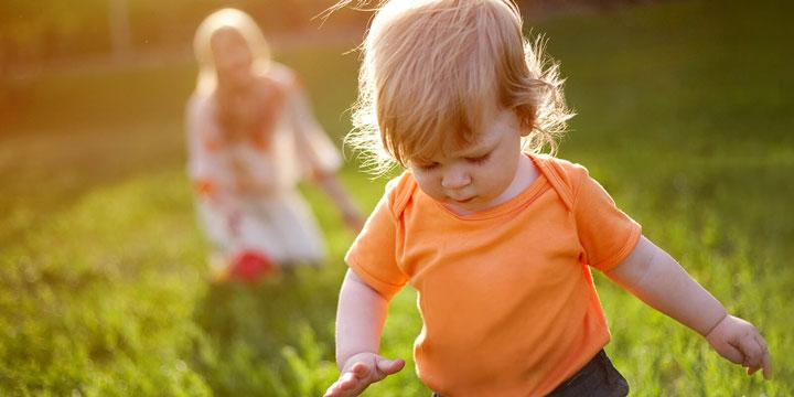 کودک در طبیعت