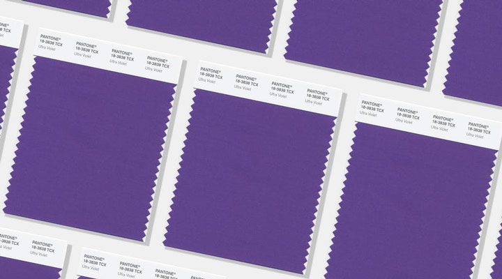 رنگ سال 2018 ارائه شده توسط ممسسه پنتون Ultra Violet