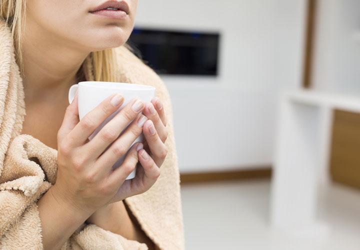احساس لرز - سرماخوردگی در بارداری