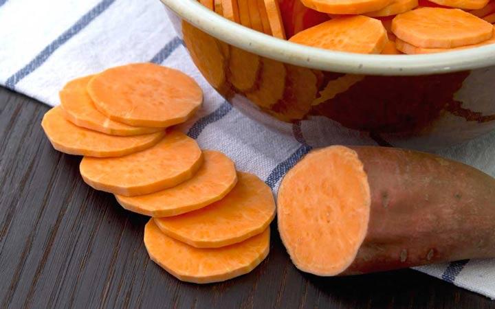 تقویت سیستم ایمنی - سیبزمینی شیرین
