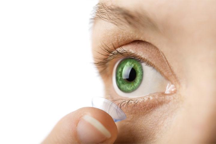 لنز چشمی تماسی - لنز طبی
