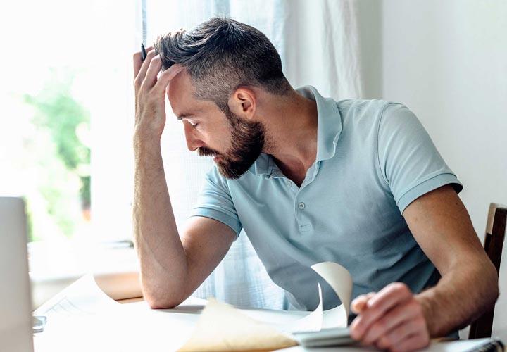 خستگی شدید - علائم افسردگی در مردان