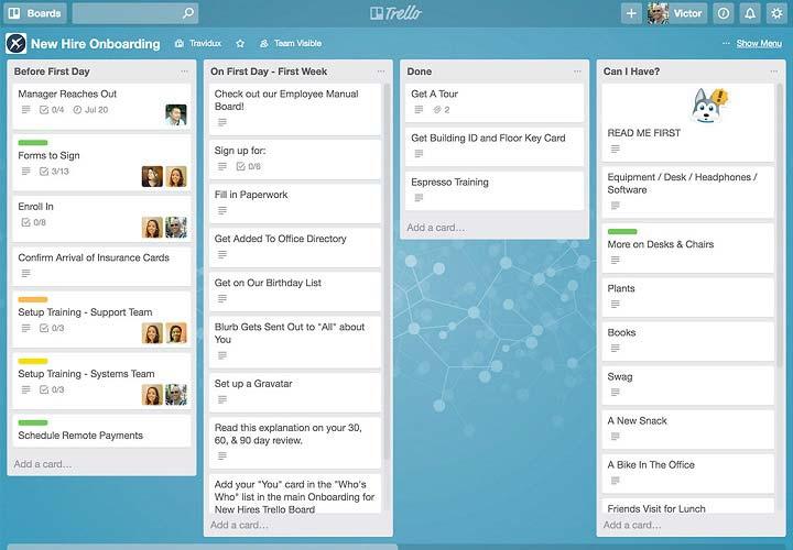 ابزارهای مدیریت پروژه - ترلو