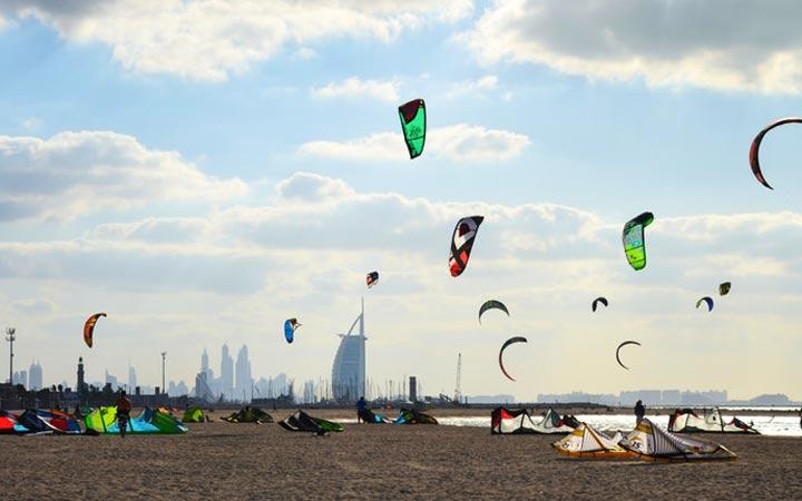 ساحل کایت ـ جاهای دیدنی دوبی