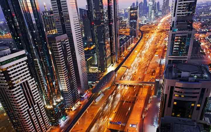 بزرگراه شیخ زاید ـ جاهای دیدنی دوبی