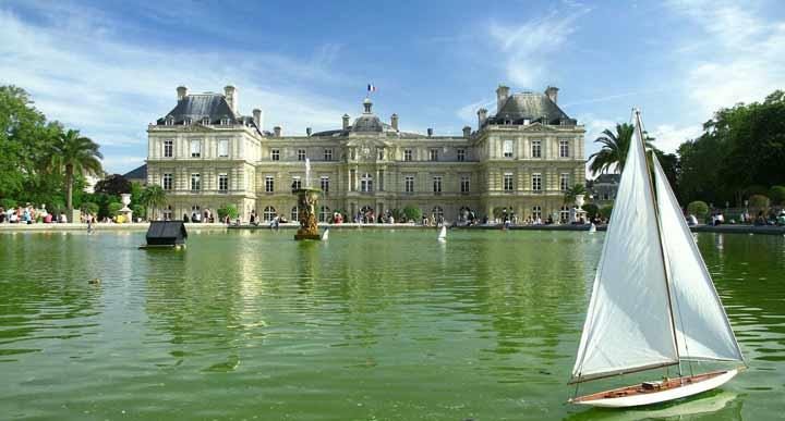 یک عصر دلانگیز در باغهای لوکزامبورگ - جاهای دیدنی پاریس