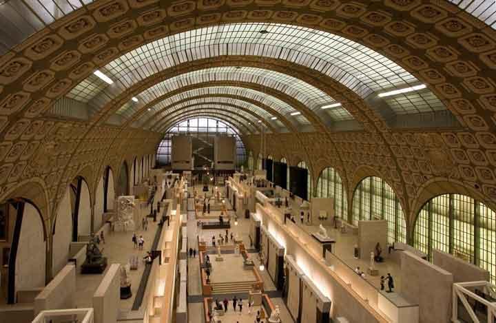 موزه اورسی در ایستگاه قطار هنرهای زیبای پاریس - جاهای دیدنی پاریس