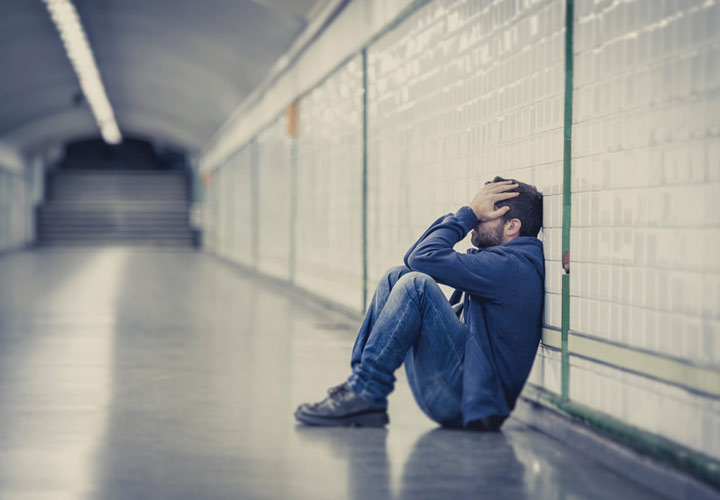 افت شدید روحیه - علائم افسردگی در مردان