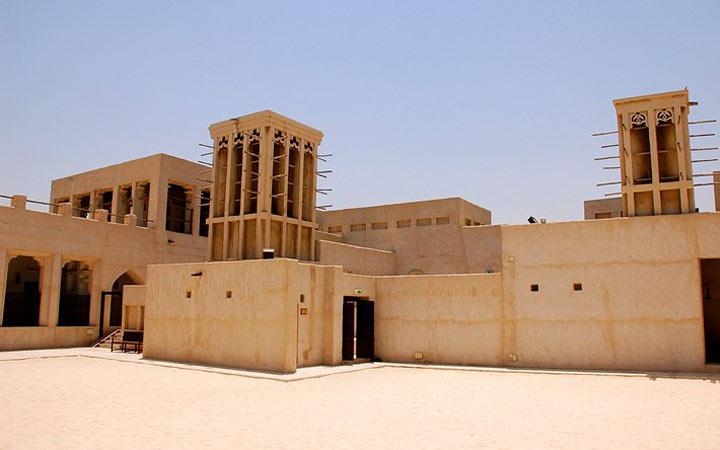 خانه شیخ زاید آل مکتوم ـ جاهای دیدنی دوبی