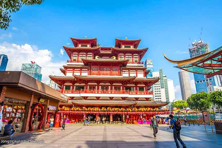 محلهی چینیها، از جاهای دیدنی سنگاپور