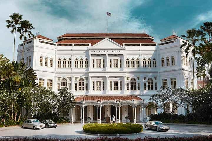 هتل رافلز، از جاهای دیدنی سنگاپور