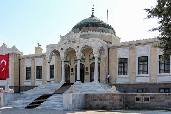 موزهی قومنگاری آنکارا، از جاهای دیدنی آنکارا