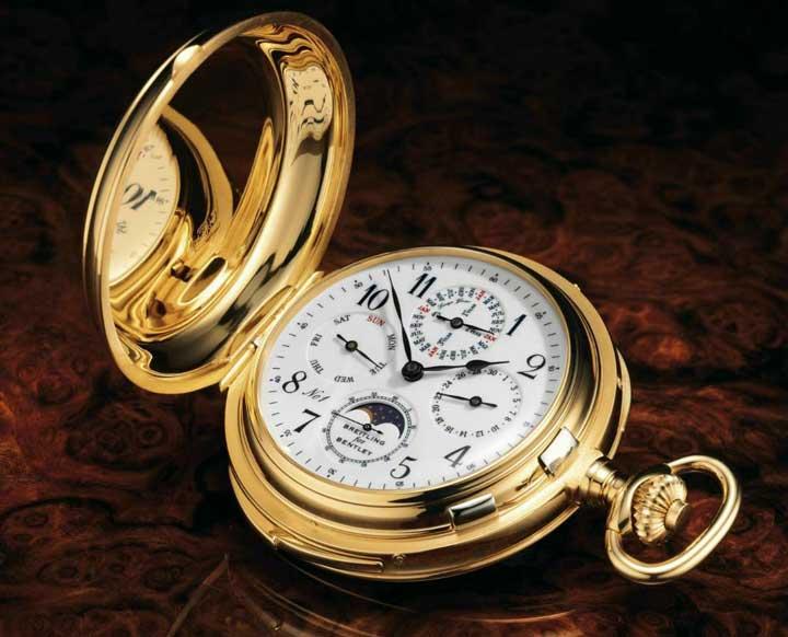 گرانترین ساعتهای مچی و جیبی دنیا
