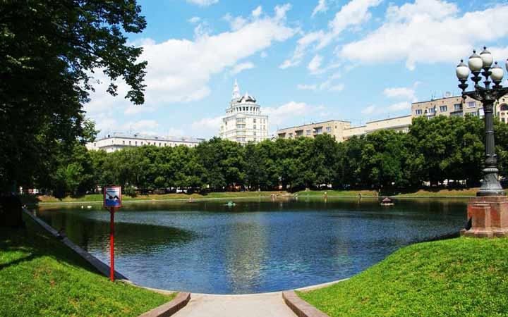 جاهای دیدنی مسکو - برکهی پاتریارشی