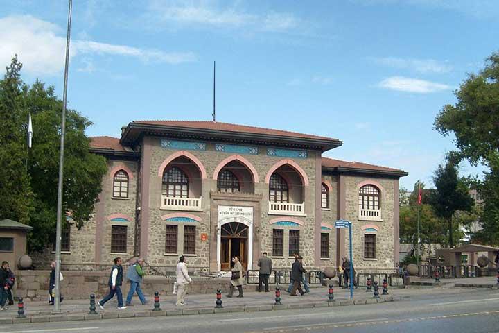 موزهی جمهوری، از جاهای دیدنی آنکارا