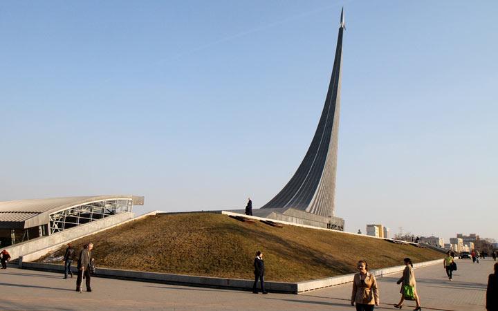 جاهای دیدنی مسکو - موزهی فضانوردی