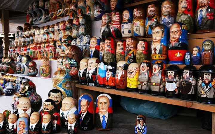 جاهای دیدنی مسکو - بازار ایزمایلوفسکی