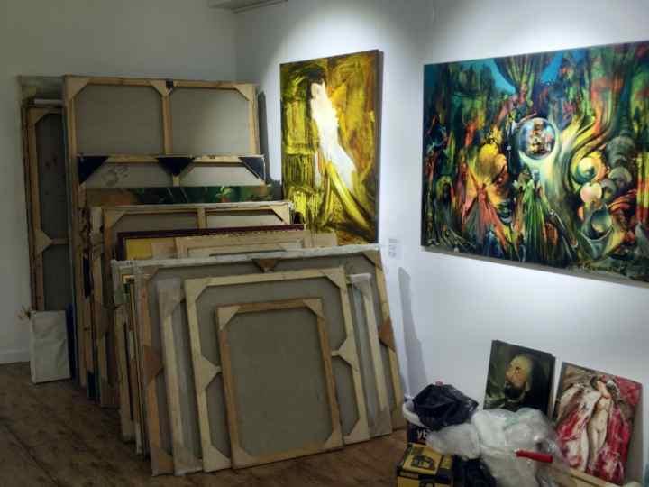 جاهای دیدنی باکو - گالری Ali Shamsir