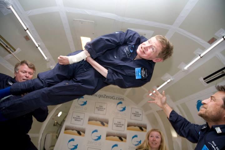 نظر استیون هاوکینگ در مورد سفر فضایی
