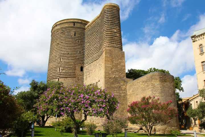 جاهای دیدنی باکو - قلعهی دختر (Maiden's Tower)