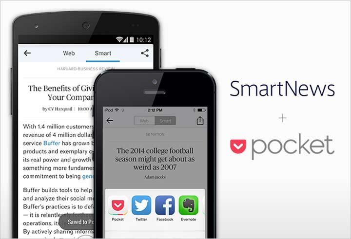 Pocket - بهترین برنامه های آیفون