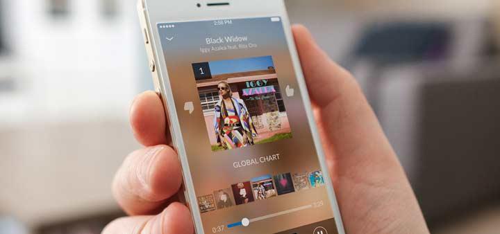 Shazam - بهترین برنامه های آیفون