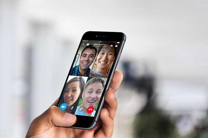 Skype - بهترین برنامه های آیفون