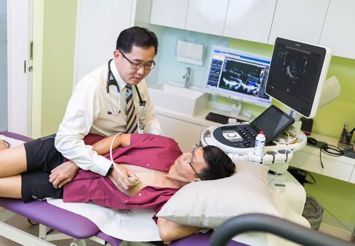 اکوکاردیوگرافی - تب مالت
