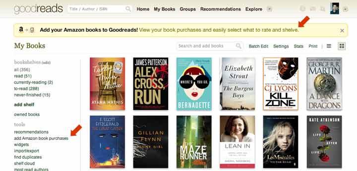 Goodreads - بهترین برنامه های آیفون