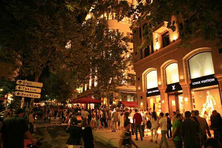 مراکز خرید استانبول - نیشانتاشی (Nişantaşı)