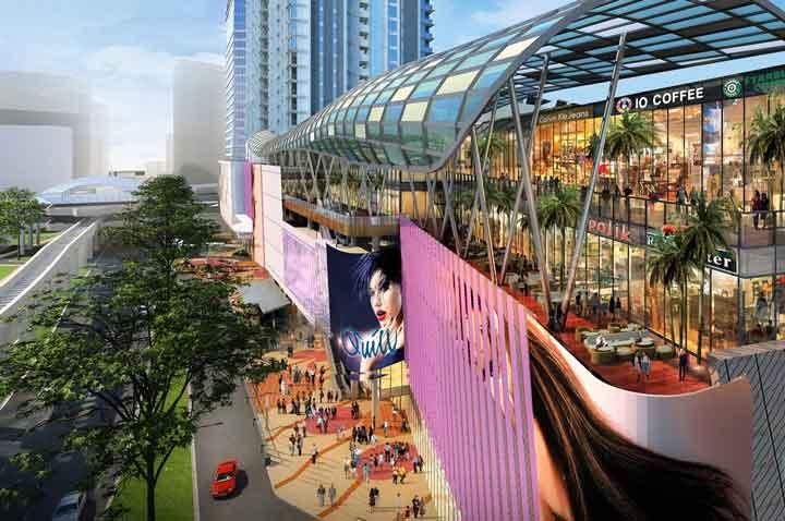 مرکز خرید کوئیل سیتی (Quill City Mall) از مراکز مالزی