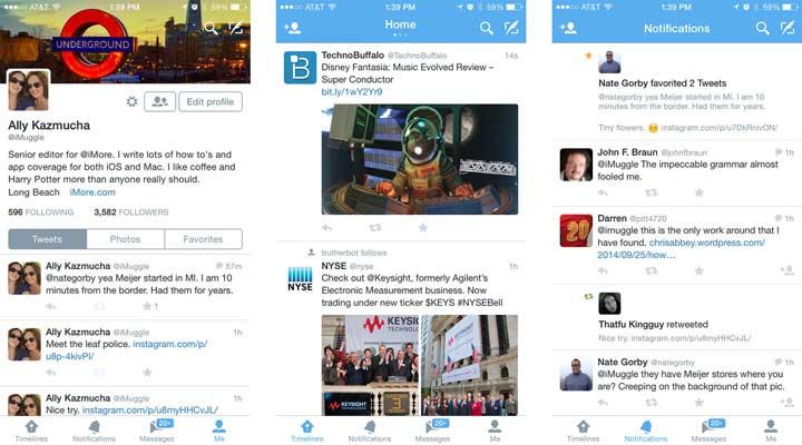 Twitter - بهترین برنامه های آیفون