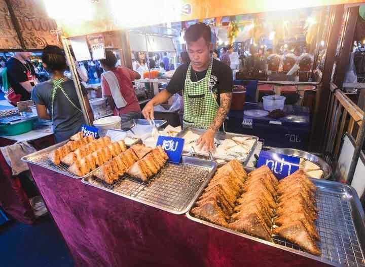 جاهای دیدنی بانکوک - غذاهای خیابانی