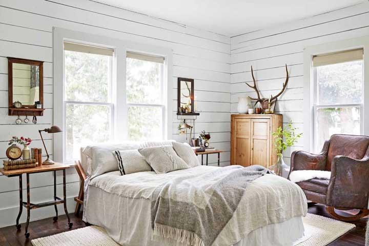 رنگ اتاق خواب - سفید