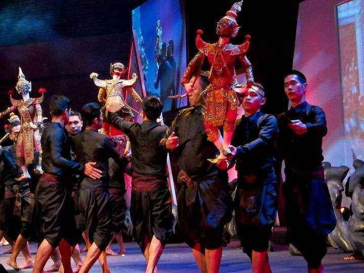 جاهای دیدنی بانکوک - نمایش های خیمه شب بازی