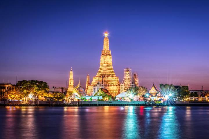 جاهای دیدنی بانکوک - معبد آرونا