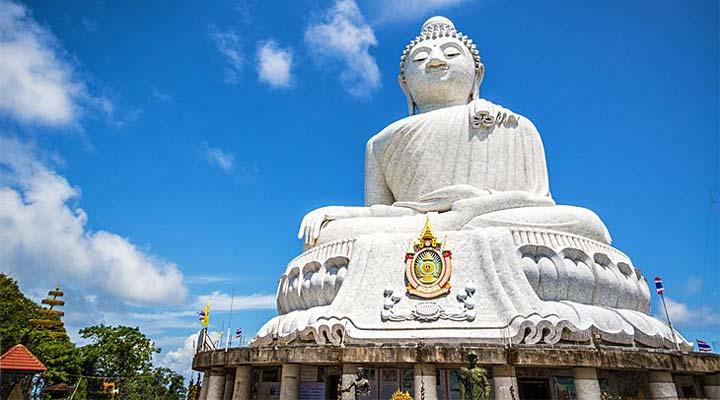جاهای دیدنی پوکت - مجسمهی بزرگ بودا