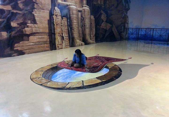 موزه ی هنر در بهشت از جاهای دیدنی پاتایا است.
