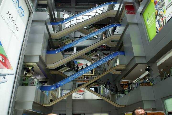 مراکز خرید بانکوک - مرکز خرید MBK