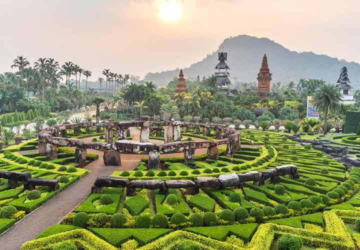 باغ استوایی نانگ نوچ جاهای دیدنی پاتایا است.